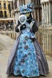 karnevalmaskering venice Royaltyfri Fotografi
