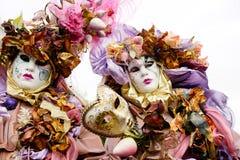 karnevalmaskering venice Fotografering för Bildbyråer