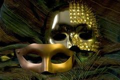 karnevalmaskeringar Arkivbilder