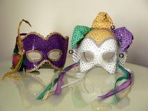 karnevalmaskeringar Royaltyfria Bilder