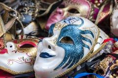 Karnevalmaskeringar av Venedig Royaltyfria Foton