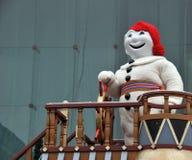 karnevalmaskot Royaltyfri Bild