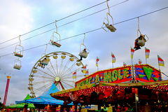 Karnevalplats Royaltyfria Bilder
