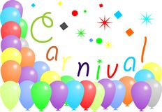 Karnevals-Ballone Lizenzfreies Stockfoto