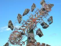 Karnevals-Fahrt (der Reißverschluss) Lizenzfreies Stockfoto