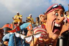 Karnevals-Floss Belgien Lizenzfreies Stockbild