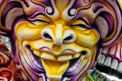 Karnevals-Floss-Dekorationen Stockfotos
