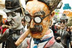 Karnevals-Hin- und Herbewegung Stockbild
