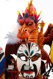 Karnevals-Hin- und Herbewegung Stockbilder