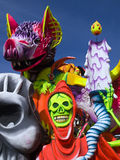 Karnevals-Hin- und Herbewegung Stockfotos