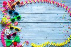 Karnevals-Hintergrund Stockbilder