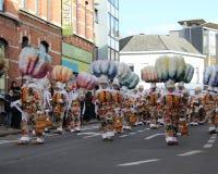 Karnevals-Ikonen: Aalsterse Gilles lizenzfreie stockfotos