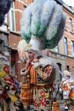 Karnevals-Ikonen: Aalsterse Gilles stockfoto