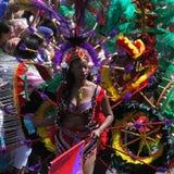 Karnevals-Königin Stockfoto