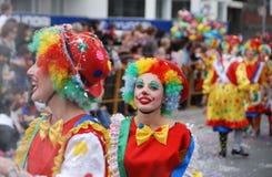 Karnevals-Parade Stockfotografie