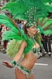 Karnevals-Parade in Warschau Lizenzfreies Stockfoto
