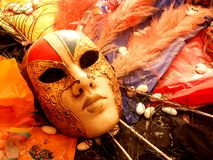 Karnevals-Schablone lizenzfreies stockbild