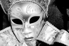 Karnevals-Schablone, Venedig Lizenzfreie Stockfotos