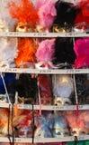 Karnevals-Schablonen, Venedig stockbild
