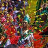 Karnevals-Szene Lizenzfreies Stockbild