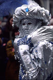 Karnevals-venetianische Schablone Lizenzfreies Stockbild