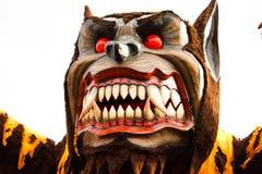 Karnevals-Wolf-Hin- und Herbewegung Lizenzfreie Stockbilder