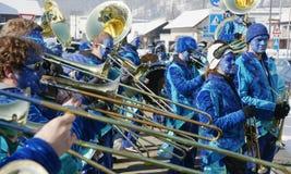 karnevalschweizare Fotografering för Bildbyråer