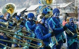 karnevalschweizare Arkivbilder