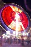 Karnevalsfahrzeitbelichtung Stockbild