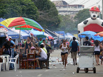 Karnevalsfeiern in Panama Stockbild
