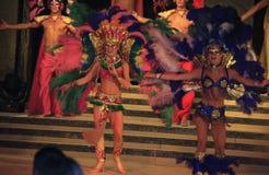 karnevalshowvariation Arkivbilder