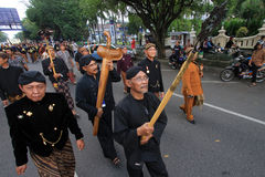 Karnevalsläktklenoder Indonesien Royaltyfria Bilder