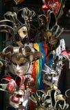Karnevalsmaske Venedigs Italien während der Festlichkeiten Stockbild