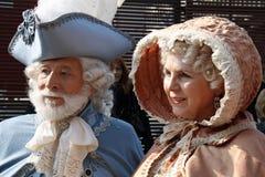 Karnevalsmasken des Karnevals von Venedig Stockfotos