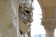 Karnevalsmasken des Karnevals von Venedig Stockfotografie