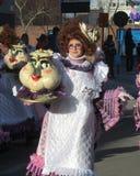 Karnevalsparade 2014 Aalst Stockbild