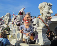 Karnevalsparade 2015 Aalst Lizenzfreie Stockfotografie