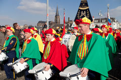 Karnevalsparade von Maastricht 2011 Lizenzfreie Stockfotografie