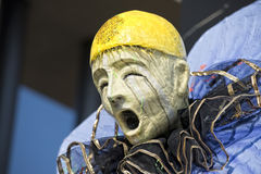 Karnevalsparadelastwagendetail Lizenzfreies Stockbild