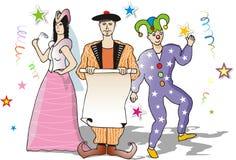 Karnevalsparty Lizenzfreies Stockfoto