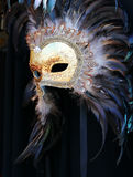 Karnevalsschablone, Venedig stockfoto
