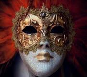 Karnevalsschablone von Venedig Stockfotos