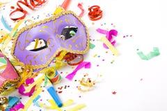 Karnevalsschablonen Lizenzfreies Stockbild