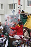 Karnevalsstraßenausführende in Maastricht Lizenzfreie Stockfotografie