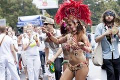Karnevalstänzer stockfotografie