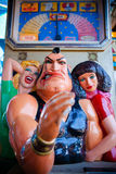 Karnevalstyrkalek arkivbilder