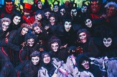 Karnevaltid! Arkivbild