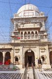 Karni Mata Temple eller tempel av tjaller, Bikaner arkivbilder