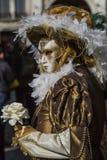 Karnival Venezia Arkivbild