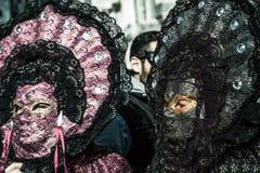 Karnival Venezia Arkivfoto